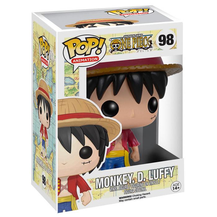 Funko Monkey D. Luffy (One Piece) Funko Pop | planetahobby.es