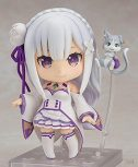 10cm Anime Re: La vida en un mundo diferente de Zero Emilia Kawaii Figura de acción linda Juguetes Regalo Pop...