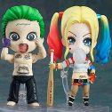 2 Uds Suicide Squad Harley Quinn 671 Joker 672 Anime Figura De Acción Q Posket PVC Colección De Muñecas Modelo...