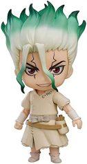 Anmine Toys Model Dr Stone: Senku Ishigami Q versión Nendoroide Action Figura Decoración de la decoración Anime Regalos Juguetes Modelo...