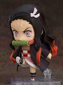 Demon Slayer Kamado Tanzyirou Kamado Nezuko Q Nendoroid Version Tiene Accesorios Cambio de muñecas de Cambio Facial Figura D Animación...