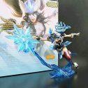 GSDGSD LOL League Legends Figura Juego de acción Ciego Jinx Yasuo Modelo de Juguete 3D estatuilla Juego héroe Anime decoración...