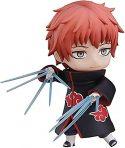 JIASHIFU Anime japonés Naruto 9CM Mini muñeca muñeca Naruto Shippuden Nendoroid Sasori