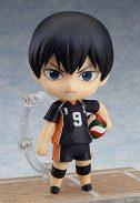 MICOKID ¡¡Haikyuu !! Tobio Kageyama Volleyball Boy No. 9 Kageyama Tobio Q Version Nendoroid Muñeca Que Cambia la Cara móvil,...