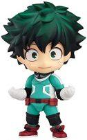 Modelo de estatuas de Anime My Hero Academia Midoriya Izuku Midoriya Smash Nendoroid Anime Souvenirs coleccionables Manualidades Juguete Figuras de...