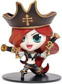 Modelo LOL League League Legends Bounty Hunter Hunter Hembra Miss Doom Juego Periferal Juguete Acción Figura Escultura 10cm