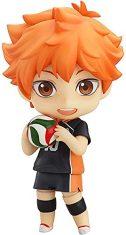 OVERSD Figura de Anime Modelo Haikyuu: Shoyo Hinata Nendoroid Figura de acción Muñeca Juego de Dibujos Animados Personaje Adorno de...