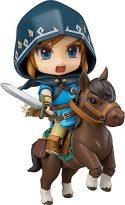 OVERSD Figura de anime Modelo Nendoroid Link: The Legend of Zelda Breath of The Wild Edición DX Figura de acción...