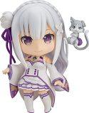 OVERSD Re: Zero -Starting Life In Another World: Emilia Nendoroid Anime Figura de acción Modelo de Personaje de Dibujos Animados...