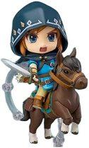 The Legend of Zelda GSC Nendoroid Link con Pony Breath of The Wild 733 # - Figura de muñeca DX...