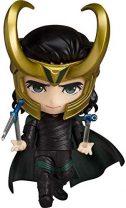 UanPlee-SC Personajes Anime Thor Ragnarok: Figura de acción de Loki Nendoroid Alto 10CM (3.9 Pulgadas)